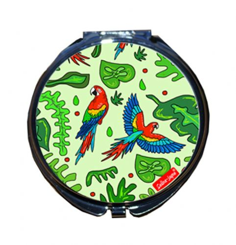 Selina-Jayne Parrots Limited Edition Designer Compact Mirror